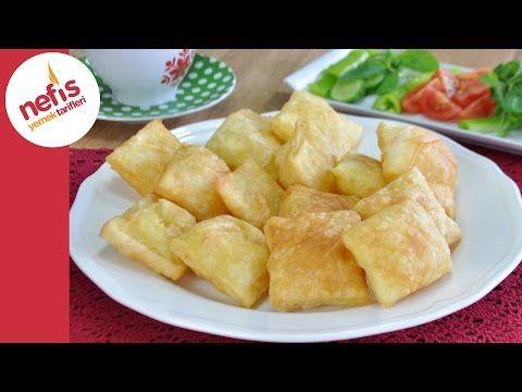 Hazır Yufkadan Kolay Pişi Tarifi | Pratik Kahvaltılık Börek Yapımı - YouTube