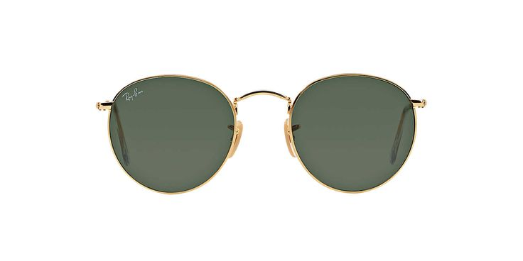 Ray-Ban RB3447 47 Green & Gold Sunglasses | Sunglass Hut Australia