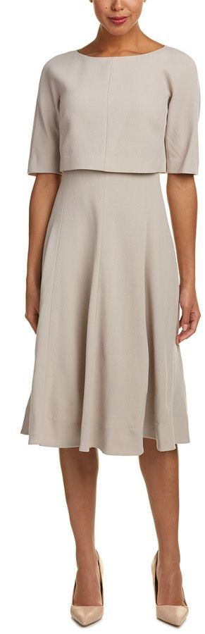 Lafayette 148 New York Julissa Wool A-Line Dress