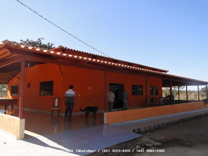 Fazenda para Venda - Mambaí / GO, Área Total 1.526 hectares