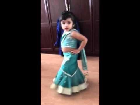 Sajina 3 year old dance sari Ka fall asa