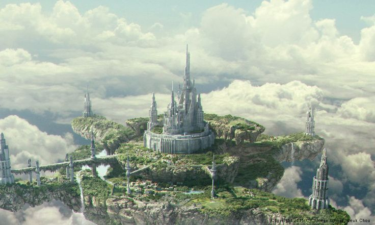 3d  fantasy  castle   ...