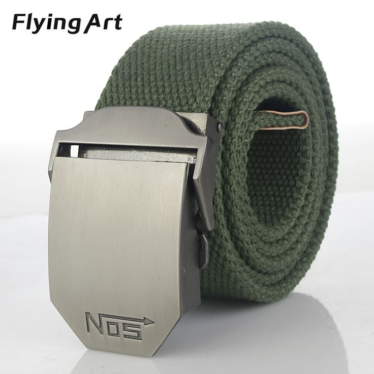 NOS Hot Men Tactical equipment With thick canvas belt Fashion Classic cowboy outdoor  lengthening belt For men 110 140 160cm