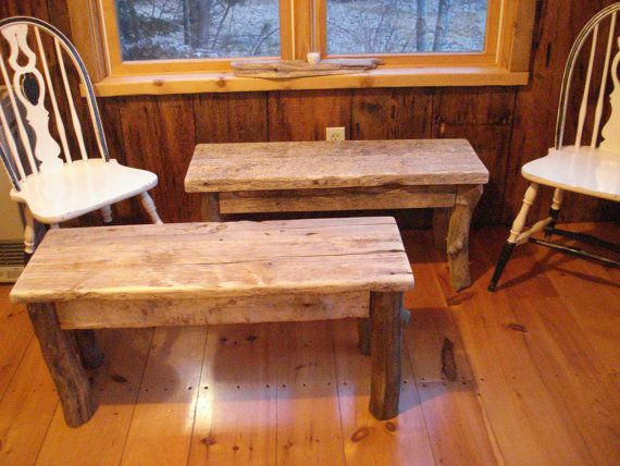 benches for table