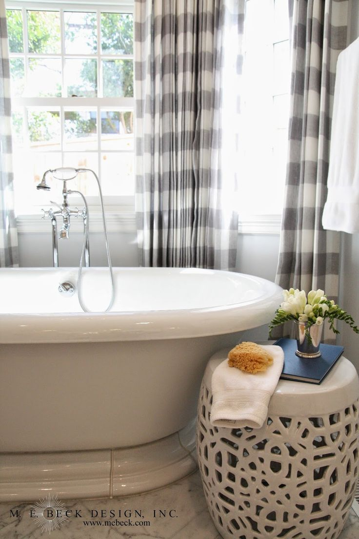Live Beautifully: Center Hall Colonial   Master Bath                                                                                                                                                                                 More