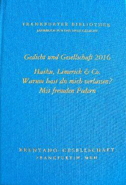 Ich freue mich sehr, über die Veröffentlichung eines meiner Gedichte, in dem neuen Buch, der Frankfurter Bibliothek - Jahrbuch für das neue Gedicht - Gedicht und Gesellschaft 2016 ISBN 978-3-933800-47-3. Meine gesammelten Gedichte, findet ihr auf meiner HP oder über G+ und demnächst auch als E Book zum download. Herzlichst eure Rose K. der Pin des Bildes ist von( DIE KUNST DES EINKLANGS, Petra Conte-Sansi, moderne Malerei, handgefertigte Unikate, Auftragsarbeiten, Das besondere Geschenk…