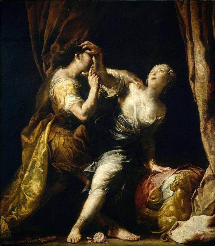 Lukrécie a Tarquinius, Giuseppe Maria Crespi