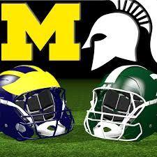 Image result for MSU vs. Michigan  football rivalries