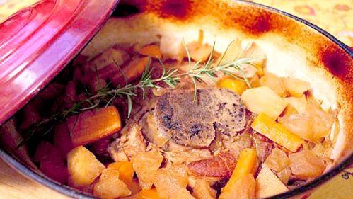 Rôti d'épaule de porc de saison