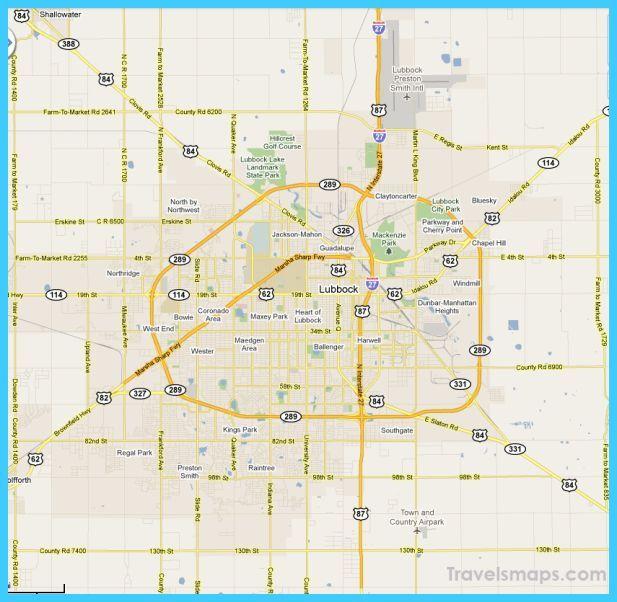 Cool Map Of Lubbock Texas Lubbock Texas Lubbock Texas