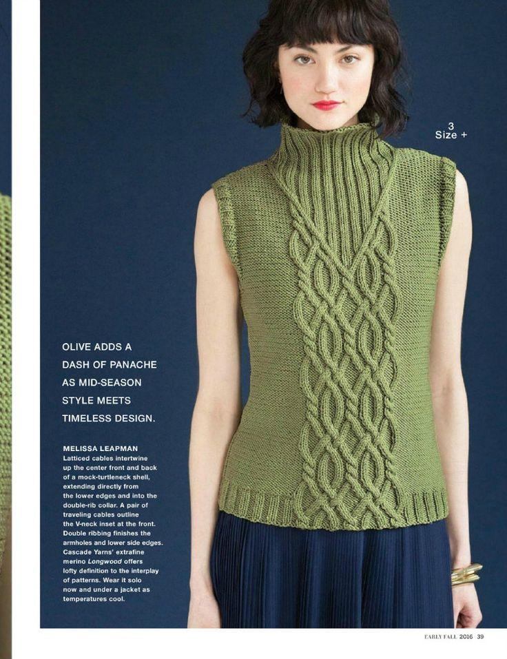 Vogue Knitting Early Fall 2016 - 轻描淡写 - 轻描淡写