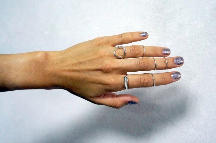 Все наши кольца доступны в магазине @svoyapolka.artplay по цене, от 600 до 2500 р