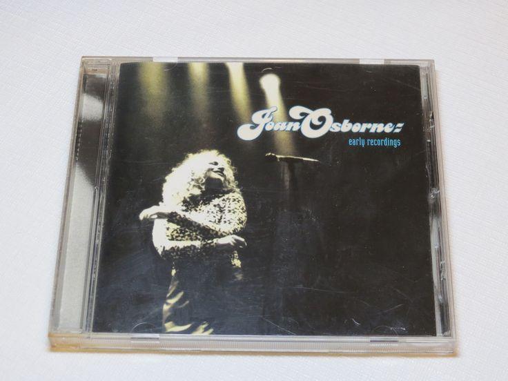 Early Recordings by Joan Osborne CD 1996 Mercury Records Flyaway Wild World*^