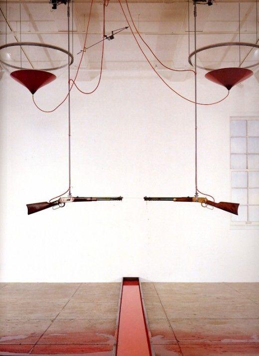 Rebecca Horn Installation