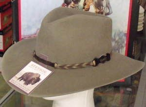 cfeb583c6dca0 Stetson Drifter Buffalo Felt Western Hat - One 2 mini Ranch