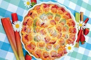 Recept na buchtičkový koláč, k uždibování jako stvořený