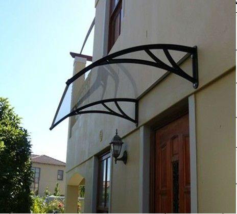 Outdoor Aluminum Awning Kit Porch Front Door Canopy Window