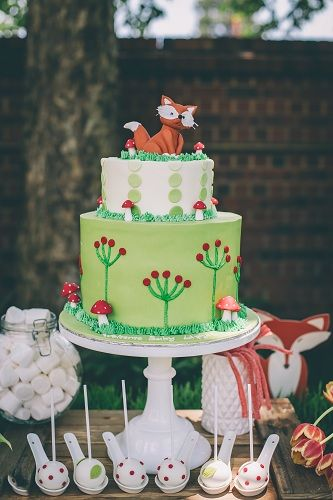 Fox in The Woods Baby Shower Flowers and Styling: Bespoke Blooms Decor: Absolute Perfection Photographer: Carike Ridout Photography Cake and Baked Goods: Magnolia Bake and Cake Stationary: Match Set Love Venue: Buitengeluk Venue