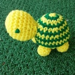 List of free crochet turtle patterns and amigurumi turtle patterns. Make some little crochet turtle earrings, applique, toys, keychain, pincushion, rattle, purse, pillow, bracelet and more. Find crochet turtle pictures, crochet books, and crochet turtle gifts.        Photo (CC)  New turtle crochet patterns added 23 Dec 2011