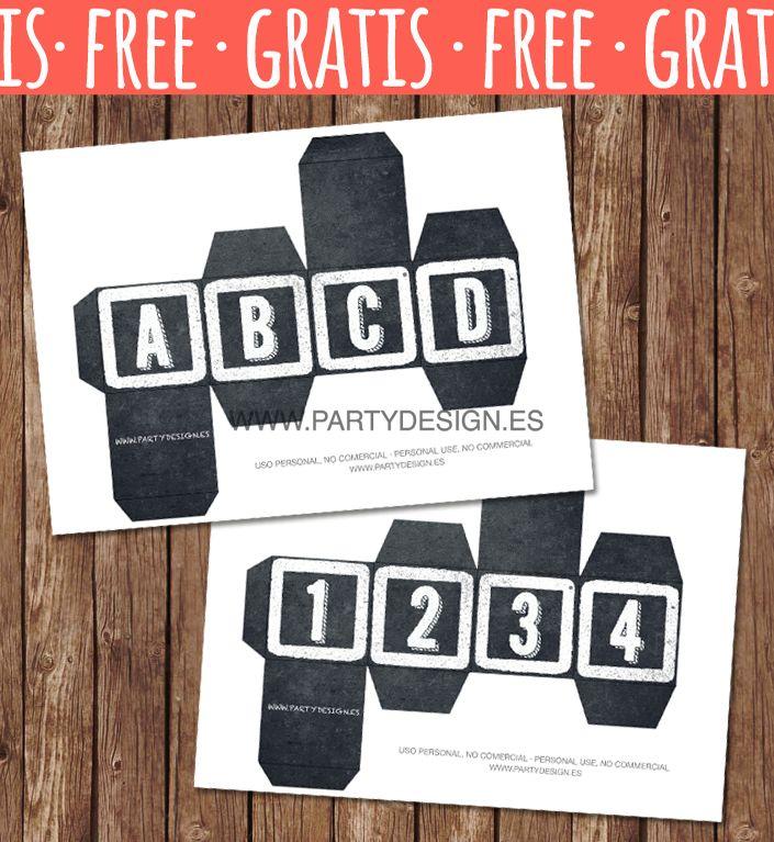 42 best IMPRIMIBLES GRATIS images on Pinterest | Free printables ...