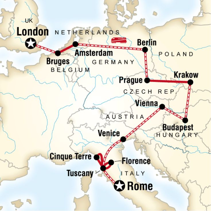 Best Travel Maps Great Itineraries Images On Pinterest Travel - Travel europe from us map