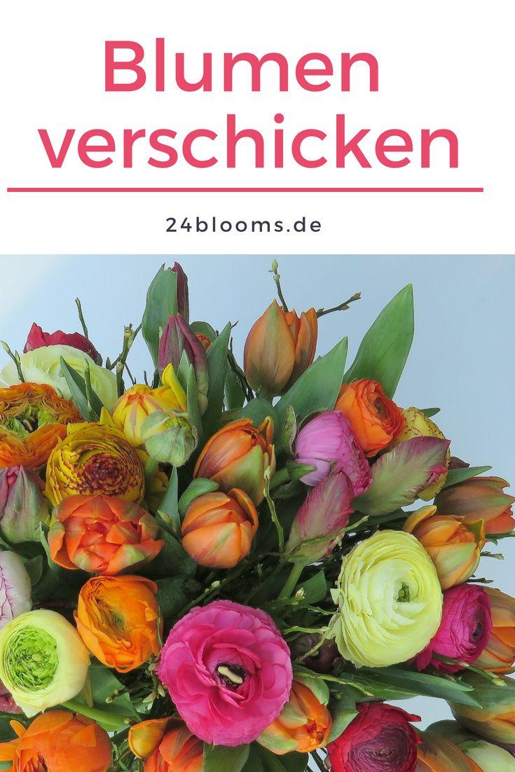 Heute Online Blumen Verschicken Blumenversand 24blooms Blumenstrauß Blumen Frühling Blumen