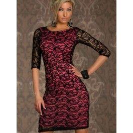Vestidos de Encaje por la Rodilla Online MS778