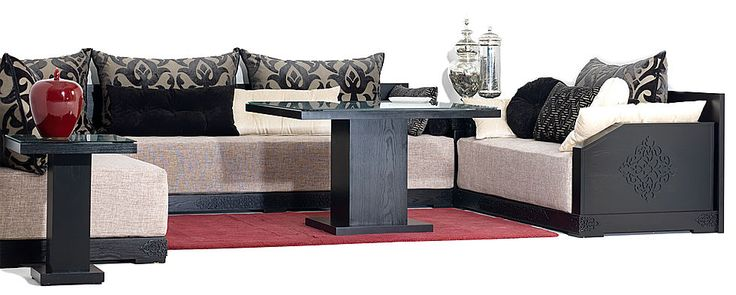 traditionnels atlas aida atlas salon marocain richbond. Black Bedroom Furniture Sets. Home Design Ideas