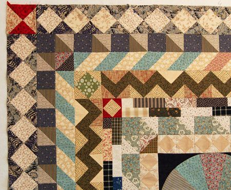 187 best Quilt borders images on Pinterest | Table runners ... : borders for quilts - Adamdwight.com