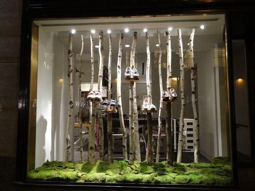 Ich habe noch ziemlich viele birkenst mme eingelagert laden pinterest schaufenster - Schaufensterdekoration weihnachten ...