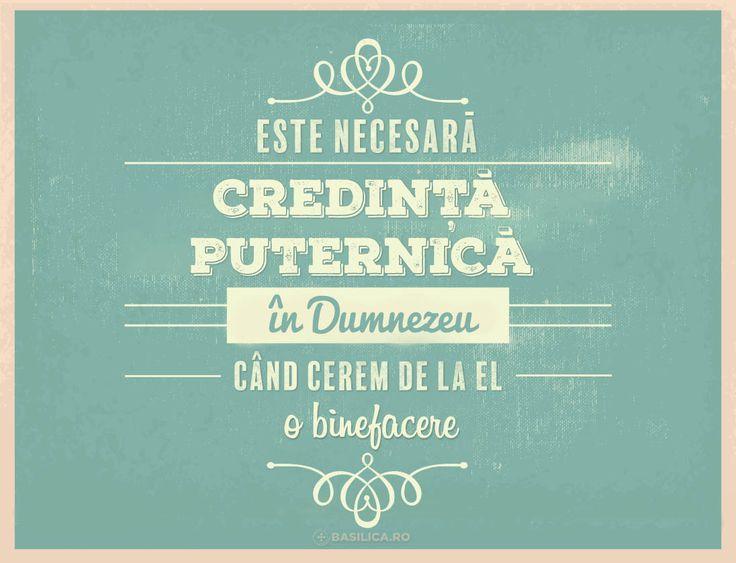 """""""Este necesară credință puternică în Dumnezeu când cerem de la el o binefacere"""" (#PatriarhulDaniel)"""