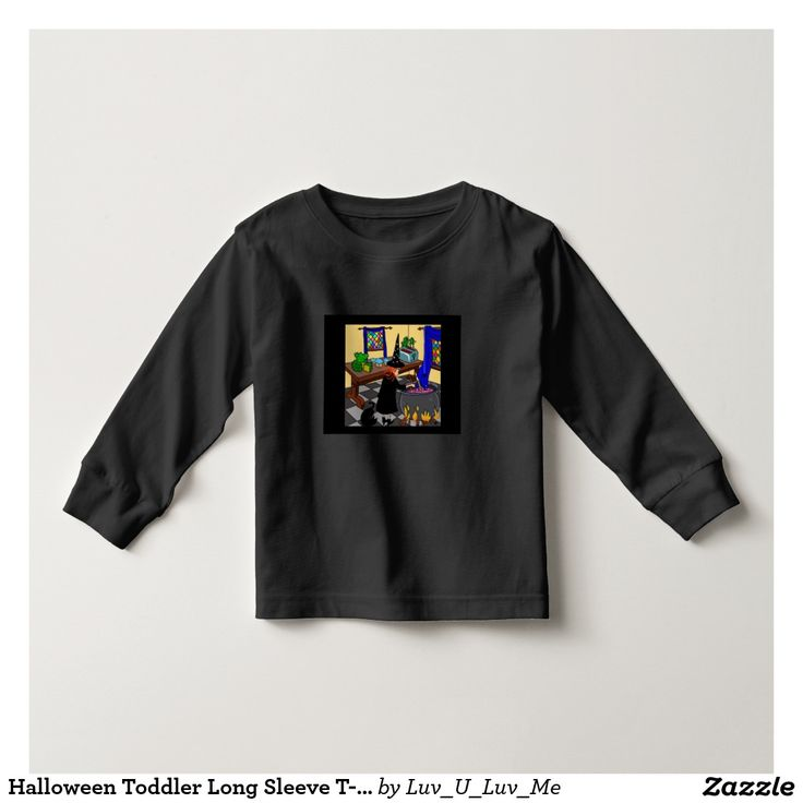 Halloween Toddler Long Sleeve T-Shirt