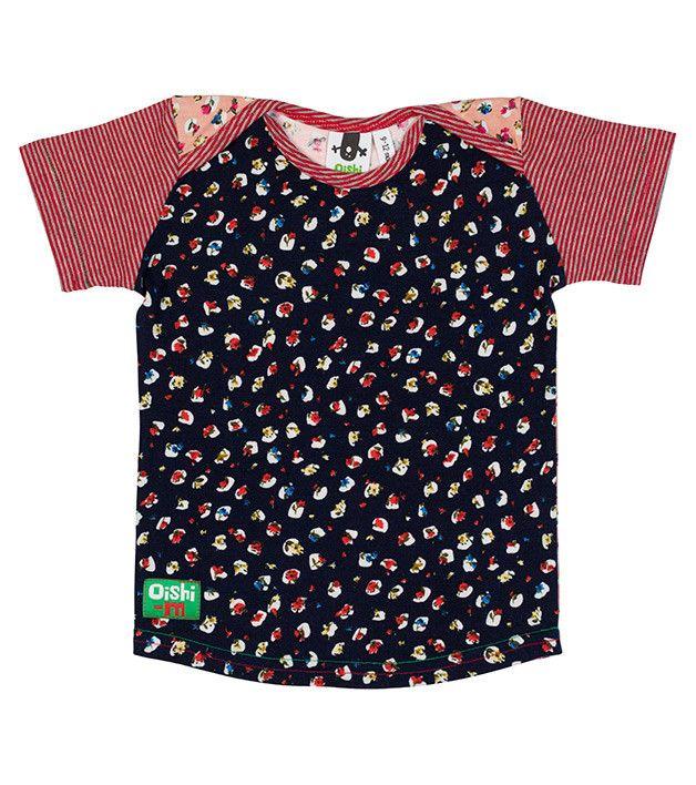 All that Jazz Shortsleeve T Shirt, Oishi-m Clothing for Kids, Spring 2014, www.oishi-m.com