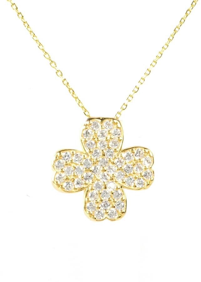 Latelita London - Lucky Clover Necklace Gold
