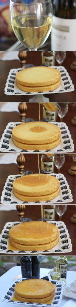 Chardonnay Cake Recipe- thanks Marg! I'll have to pick up an extra bottle to enjoy as I bake