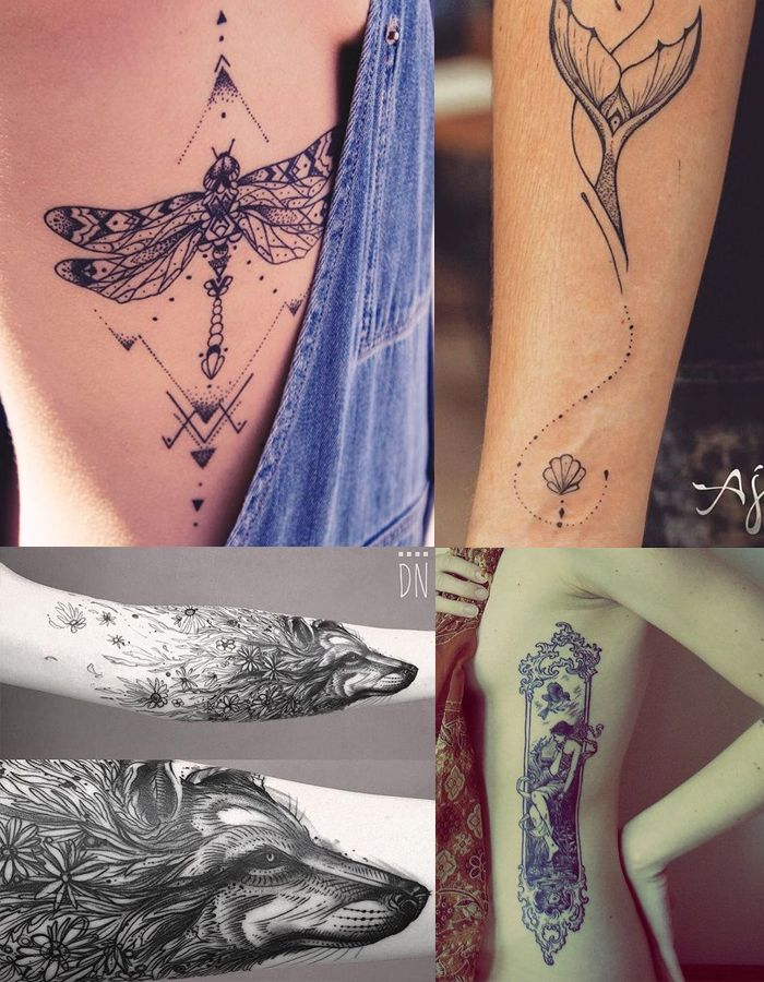 Tatuagens Literárias - DarkSide Books - Menina Submersa