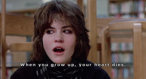 Breakfast Club quote by Ally Sheedy -- one of the most powerful ones (and Molly Ringwald's favorite!)