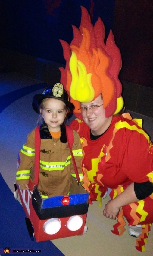 fire and fireman costume - Halloween Costume Fire