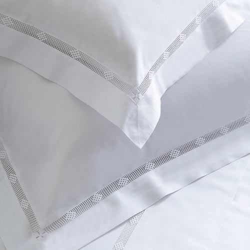 Arlette Embroidered Bed Linen - Cologne & Cotton