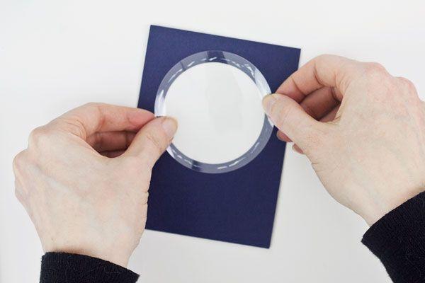 Make a Shaker Card : Method 1, Step 4