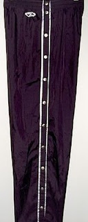 everybody had a pair of snap pants..