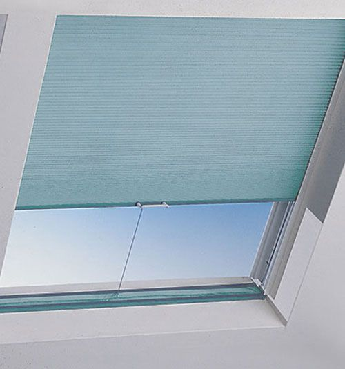 Bali® SkyTrack® Skylight Shades: Blackout Midnight                                                                                                                                                     I'm surprised at how many people are pinning this one. I have a lot of you pinning this one. Let me know if you guys have this kind of attic window and what you end up using.