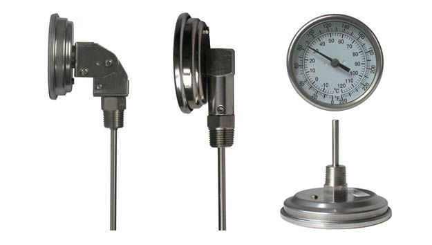 "Jun Ying's bimetal thermometer is industry standard and design. A general purpose, versatile 1"" (25mm), 2"" (50mm), 3"" (75mm) to 6"" (150mm) dial. All versions of our bimetal thermometers are hermetically sealed, connection style can be back, bottom and angle available for optimum performance in most industrial applications. A recalibrate screw on back of the case for easy re-zero adjustable. Other type forms are available with or without a reset feature for a wider customer choice and…"