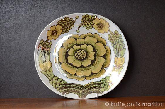 ARABIA / Birger Kaipiainen [ PRO ARTE - ELEGANCE/2 ] wall plate