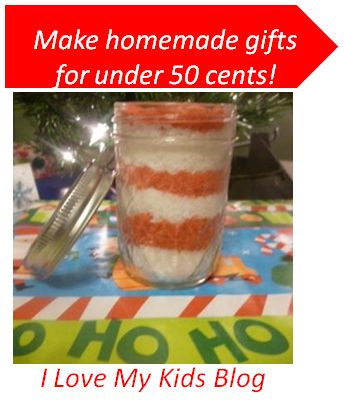 Homemade Sugar Scrub is a great teacher, neighbor, or friend gift! Only 3 ingredients