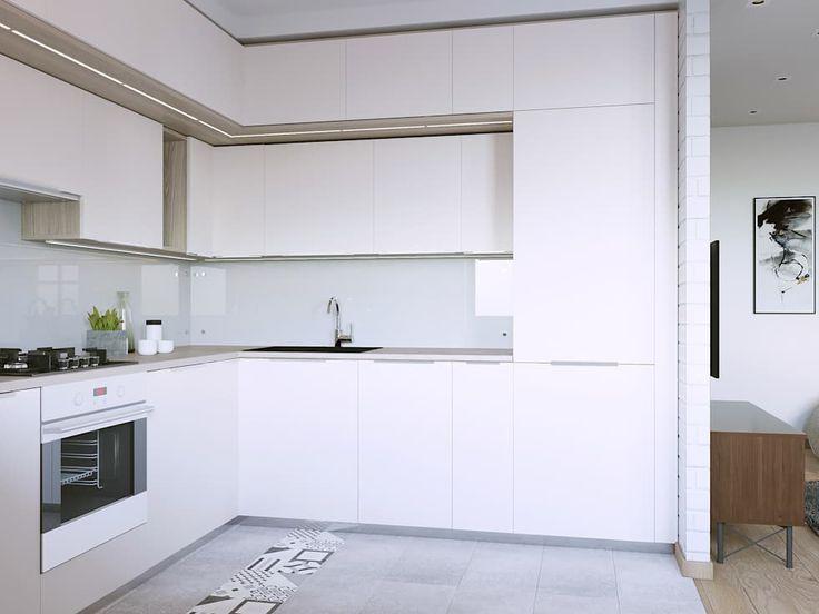 Wohnideen, Interior Design, Einrichtungsideen U0026 Bilder. Moderne Küchen.  Minimalistische ...