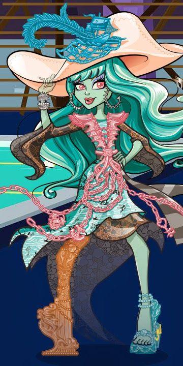 La web de Monster High ha cambiado un poco el estilo de los Bios de Monster High y ha puesto los artworks completos de los nuevos per...
