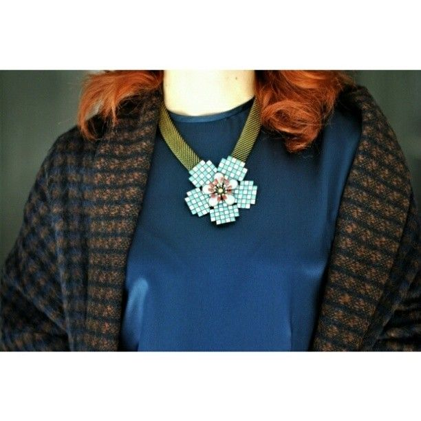 missbailing @Miss Bai Ling | My outfit for #mfw14 with #atelieraltrecose dress and coat #mirandakonstantinidou #bijoux #ootd #milanfashionweek #instamood #instafashion #instadaily #fashionblogger #inthemoodforloveblog #me #silk #wool #necklaces
