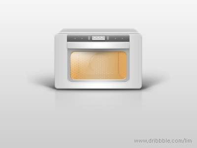 oven icon design.  05.2012