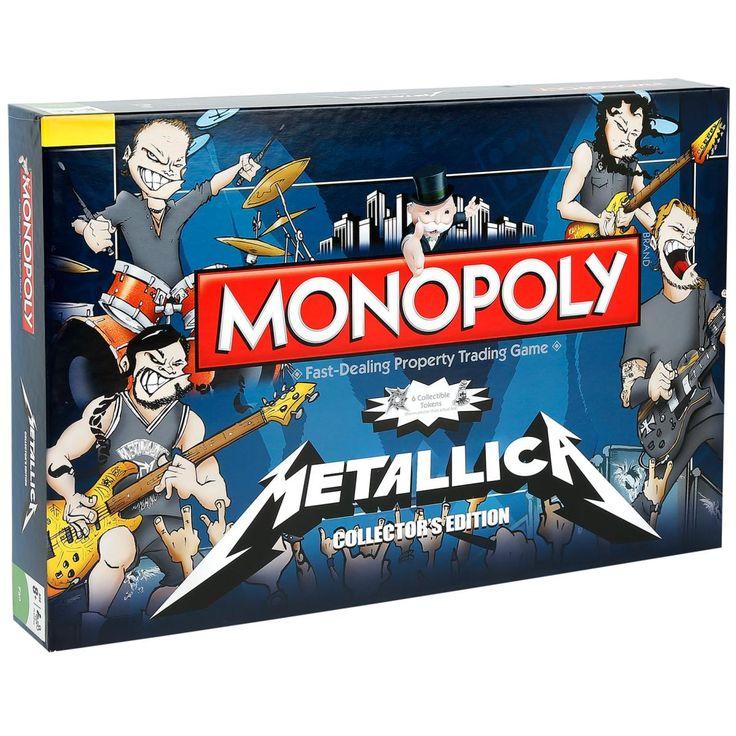 Metallica  Brettspiel  »Monopoly«   Jetzt bei EMP kaufen   Mehr Band-Merch  Spiele & Puzzles  online verfügbar ✓ Unschlagbar günstig!
